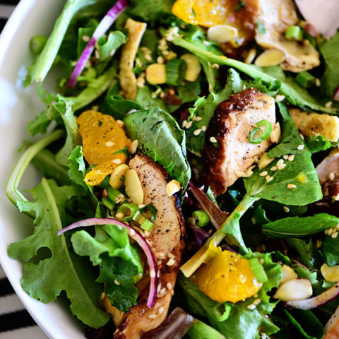 Asian Sesame Chicken Salad Tidymom