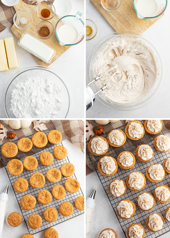 photo collage how to make buttercream