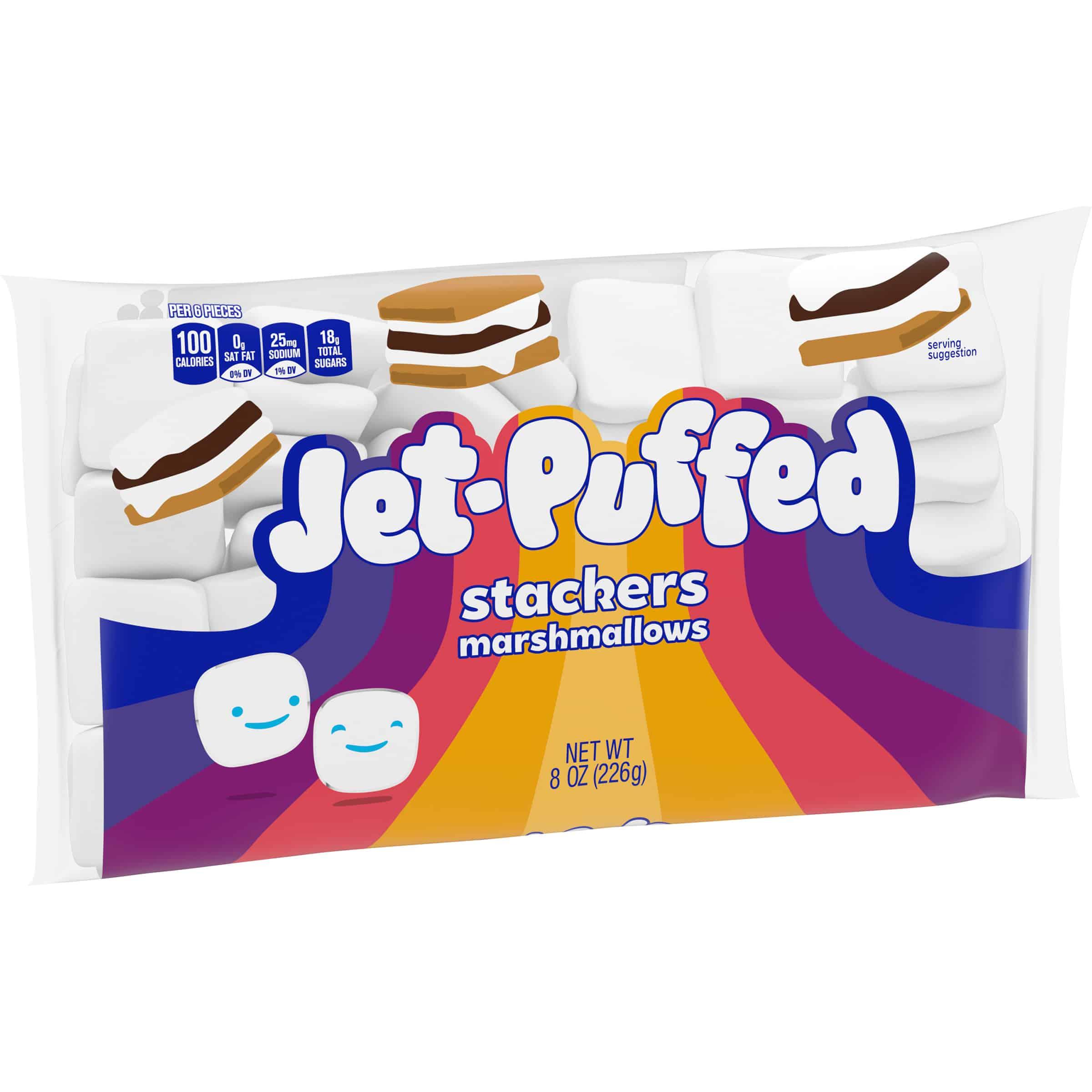 Jet-Puffed StackerMallows Marshmallows