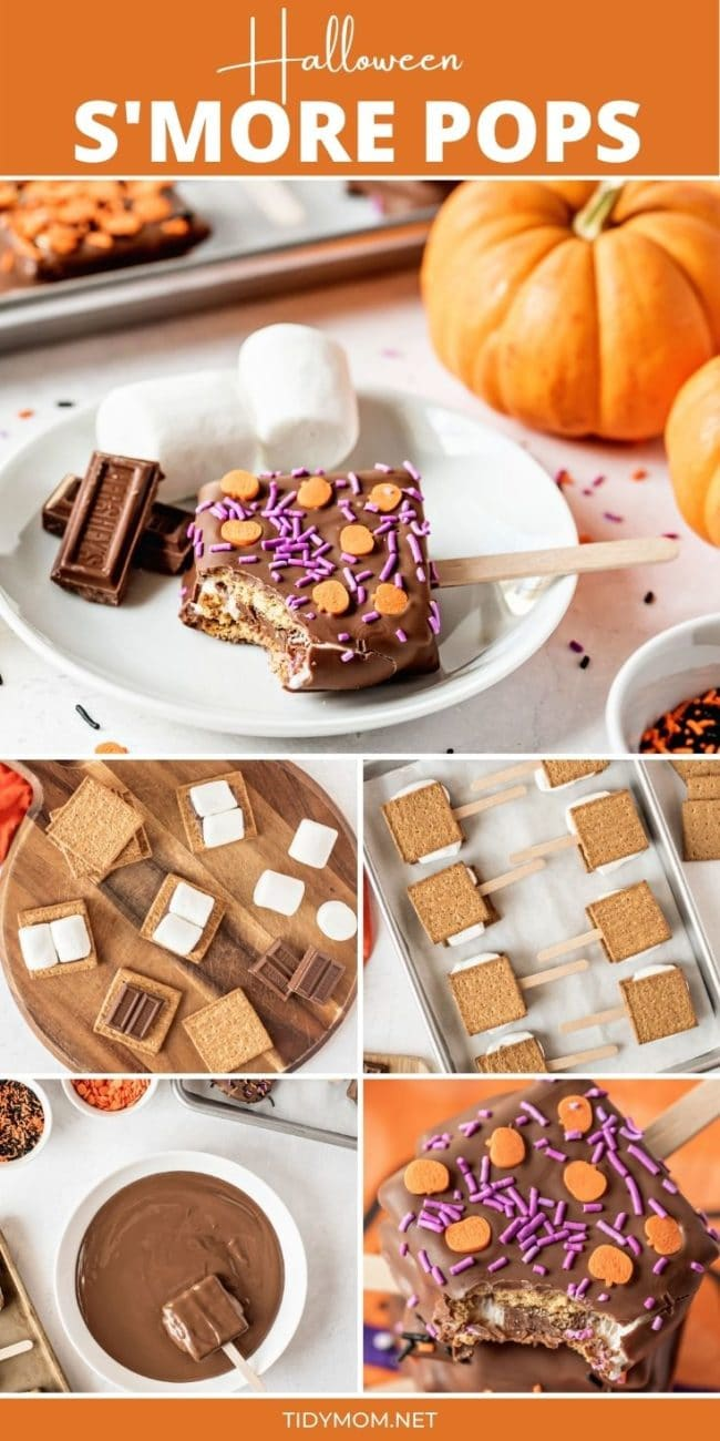 s'mores pops how-to photo collage