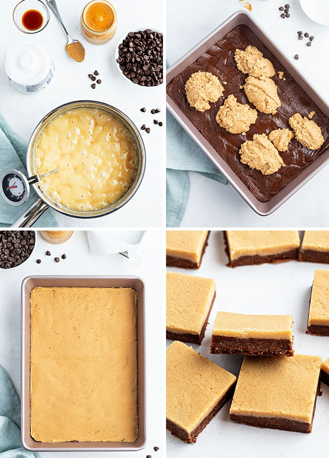 how to make fudge photo collage