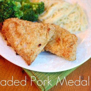 Crispy Pork Medallions