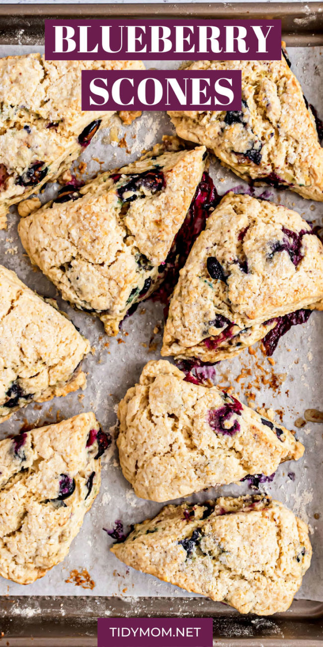 tray of baked scones